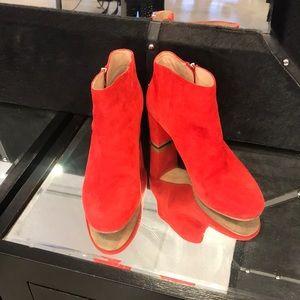 Loeffler Randall red bootie